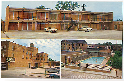 Louisiana Motor Hotel Highway 165 Downtown Bastrop La