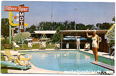 Silver Spur Motel Restaurant U S 67 East Interstate 30 Greenville Texas